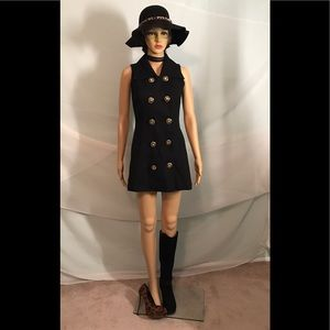 Dresses & Skirts - STUNNING Vintage Double Breasted Mini Dress
